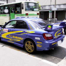 Набор наклеек на кузов автомобиля  - полный набор легенды дрифта Subaru WRX STi.