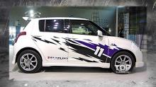 Наборнаклеек на кузов автомобиля - полный набор Eleven - Suzuki.