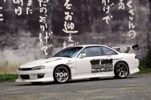 Набор наклеек на кузов автомобиля  - набор Blitz Engage для Nissan Silvia S14.