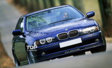 Тюнинг BMW Е39 - Юбка на передний бампер Alpina (с 2000 года).
