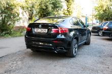 Юбка на задний бампер - Обвес Performance Max - Тюнинг БМВ Х6 Е71