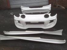 Передний бампер - Обвес Veil Side на Toyota Celica ST 202