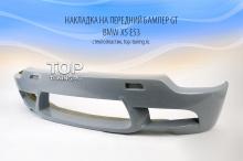 Юбка переднего бампера - Модель GT - Тюнинг БМВ Х5 Е53 (рестайлинг 2003, 2006)
