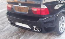 Тюнинг БМВ Х5 Е53 - Задний бампер GT.