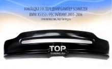 5330 Накладка на передний бампер Schnitzer Restyling на BMW X5 E53