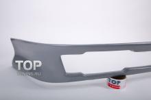 5343 Юбка заднего бампера Rieger на Audi A4 B5