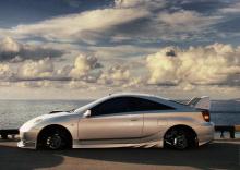 Пороги - Обвес TRD (Toyota Racing Development) - Тюнинг Тойота Селика (кузов Т23)