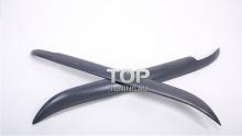 Реснички Fiber на передние фары -  Стайлинг БМВ 5 Е39