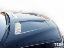 Тюнинг БМВ Х5 (Е53 рестайлинг) - Капот в стиле EVO.