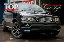 5402 Капот с жабрами EVO Style на BMW X5 E53