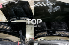 Капот EVO с жабрами - Тюнинг БМВ Х5 (Е53 рестайлинг)