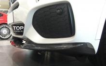 Тюнинг БМВ Х5 (Ф15) - Сплиттер переднего бампера Performance.