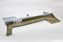 Накладки на пороги - Модель Дрифтер - Тюнинг Митсубиси Эклипс (G1)