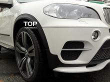 Тюнинг БМВ Х5 (е70 рестайлинг) - Юбка переднего бампера Performance LCI.