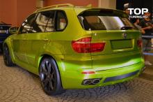 5425 Реснички на задние фонари LMA на BMW X5 E70