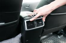 Декоративные накладки на воздуховоды (комплект 3шт.) - Модель TECH Design - Тюнинг Nissan X-Trail T32