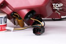 Тюнинг оптики Хендай Санта Фе 3 (ДМ) - Задние фонари Topauto Premium. Красные.
