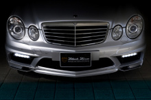 Тюнинг Мерседес W211/S211 (рестайлинг) - Передний бампер WALD Black Bison.
