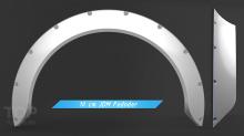 Комплект JDM расширителей арок 7+10 (Комплект 4шт).