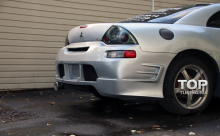 Задний бампер Тюнинг Mitsubishi Eclipse G3 (кузов D30).