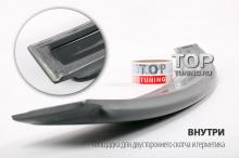 Тюнинг BMW 3 e90  Козырек выполнен из качественного АБС пластика.