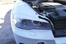 Тюнинг БМВ Х5 (е70) - Накладки на переднюю оптику GT3 (АБС).