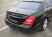 Накладка на заднее стекло в стиле AMG для Мерседес W221.
