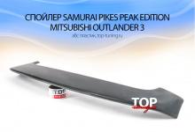 5515 Спойлер на крышку багажника Samurai Pikes Peak Edition на Mitsubishi Outlander 3