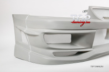 552 Передний бампер - Обвес Cyber 2.0 на Mitsubishi Galant 8