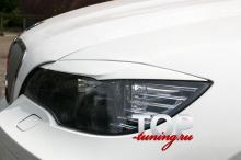 Накладки на передние фары Lion - Тюнинг БМВ X6 E71