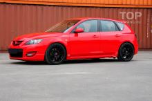 5530 Тюнинг - Пороги ABS Sport на Mazda 3 BK