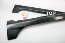 5530 Тюнинг - Пороги Sport на Mazda 3 BK