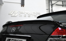 Тюнинг Мерседес Е-класс C211 - Лип спойлер на крышку багажника Prior Design.