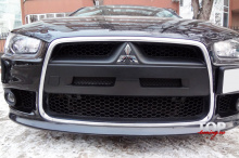 5560 Ноздри в стиле Evo рестайлинг на Mitsubishi Lancer 10 (X)