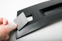 Ноздри в решетку радиатора - Модель Evo Style - Тюнинг Митсубиси Лансер 10 (рестайлинг)