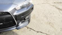 Тюнинг Митсубиси лансер 10 (рестайлинг) - Накладки на передний бампер INT Sport.