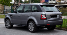 Тюнинг Range Rover Sport (Рестайлинг) - Штатные крылья.