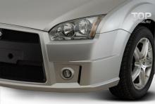 Тюнинг Форд Фокус 2 (дорестайлинг, хэтчбек) - Передний бампер Sport.