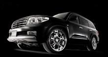 Тюнинг Toyota Land Cruiser 200 (дорестайлинг) - Аэродинамический обвес GoldMan.