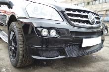 5596 Маски для противотуманных фар Brabus на Mercedes ML 164