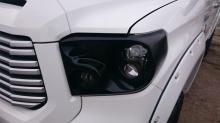 Тюнинг Тойота Тундра 2 (Рестайлинг, дорестайлинг) - Комплект расширителей арок BUSHWACKER  2014 Style +76мм.