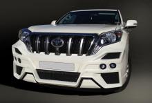 Тюнинг Тойота Ленд Крузер Прадо J150 (рестайлинг) - Аэродинамический обвес Gladiator. купить