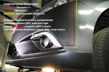 Дневные ходовые огни с функцией повторителей поворотов Эпик - Тюнинг Мазда 6 GJ.