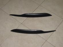 Тюнинг Ауди А4 (Б7) - Реснички на переднюю оптику.