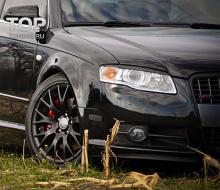 5624 Реснички на передние фары на Audi A4 B7