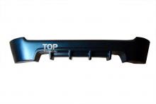 Тюнинг Шевролет Авео 1 (дорестайлинг, хэтчбек, 3дв.) - Накладка на задний бампер GT.