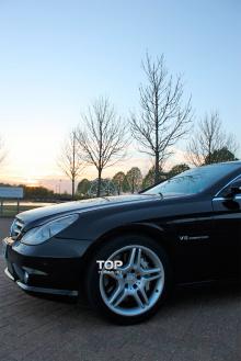 Тюнинг Мерседес CLS W219 (рестайлинг, дорестайлинг) - Передний бампер AMG.