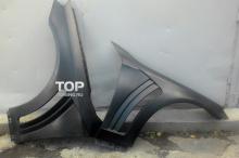 Тюнинг Мерседес W222 - Передние крылья WALD Black Bison._