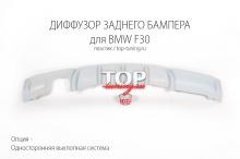 5653 Диффузор заднего бампера Performance на BMW 3 F30