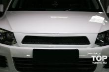 5657 Решетка радиатора Je Design на VW Touareg II